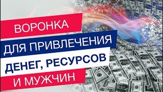Практика *Воронка для привлечения денег, ресурсов и мужчин*.Тренер Мара Боронина.
