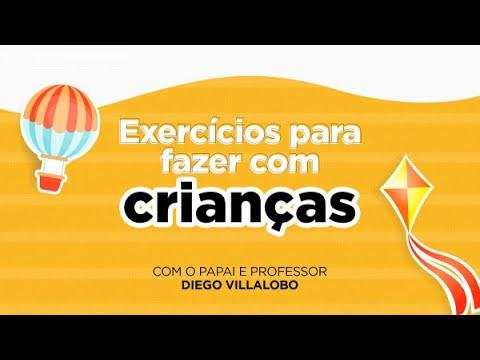 Semana das Crianças Smart Fit | Exercícios para crianças, com Diego Villalobo