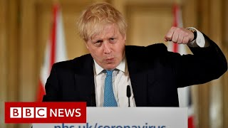 Boris Johnson: UK can turn the tide in 12 weeks - BBC News