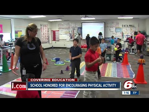 Indianapolis School Honored With National Award For Keeping Children Physically Active