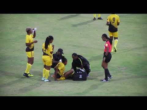 CONCACAF Caribbean Challenge Game: Women's Soccer Curacao v Antiqua & Barbuda 1st Half 2/2