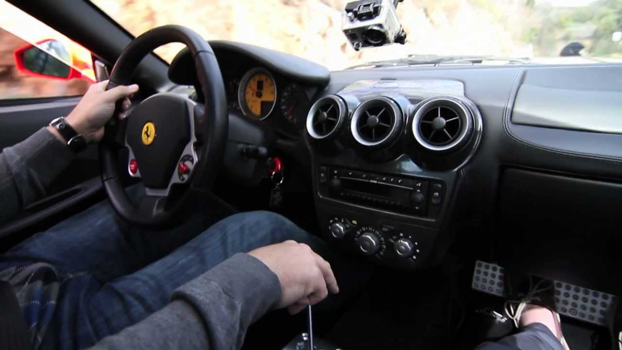 Hd Ride Along In A Manual 6 Speed Ferrari F430 Coupe Activfilms