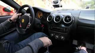 [HD] Ride along in a Manual 6 Speed Ferrari F430 Coupe :: ActivFilms