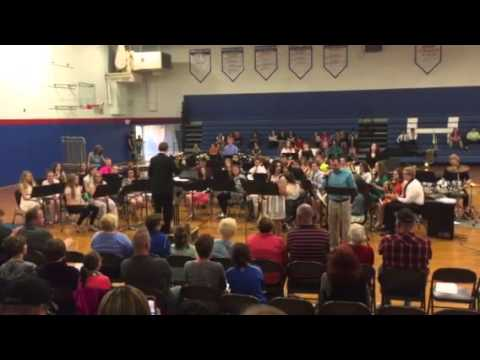 Hoopeston Area High School Concert Band - The Devil Went Down To Georgia May 6, 2016 Patrick Brooks