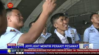 Keseruan Haerul Naik Pesawat TNI Angkatan Udara