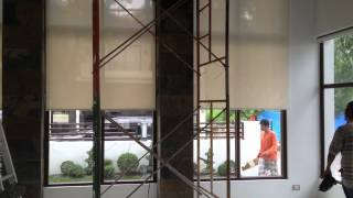 Motorized Roller Shades - LGV Project
