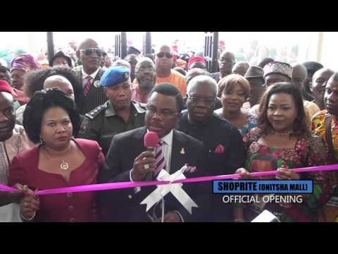 Gov Obiano official opens mega shopping mall in Onitsha, Anambra State