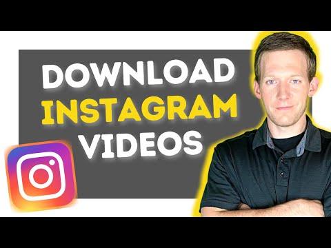 Download Instagram Videos, IGTV, & Reels To Your Computer