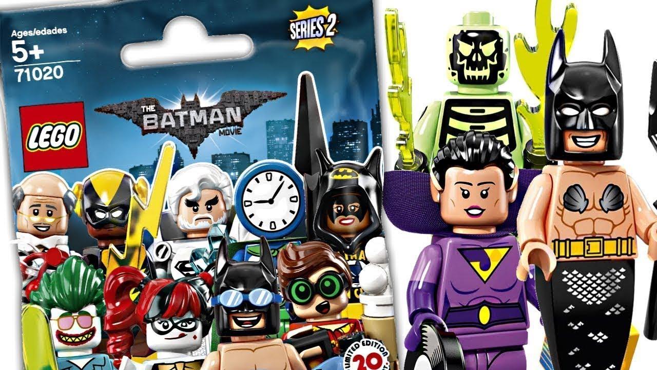 New LEGO The LEGO Batman Movie Minifigure Series 2 Wonder Twin Zan Figure