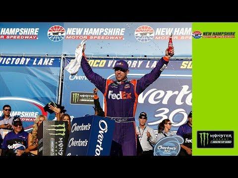 Recap: Hamlin gets 30th Monster Energy Series win at New Hampshire