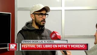 Festival del Libro en Mitre y Moreno.