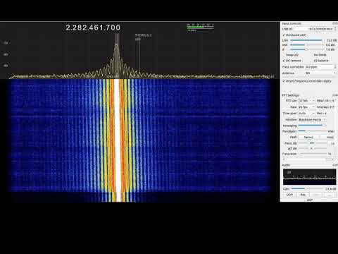 #AIM #LEO @NASA #satellite huge signal over Europe pass @ 2282.5MHz.
