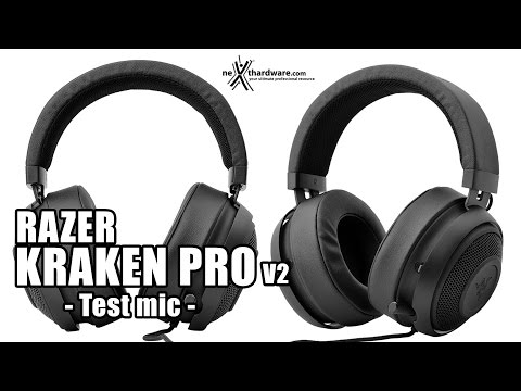 Razer Kraken Pro V2 - Test Del Microfono
