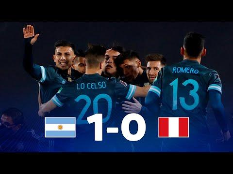 Argentina Peru Goals And Highlights