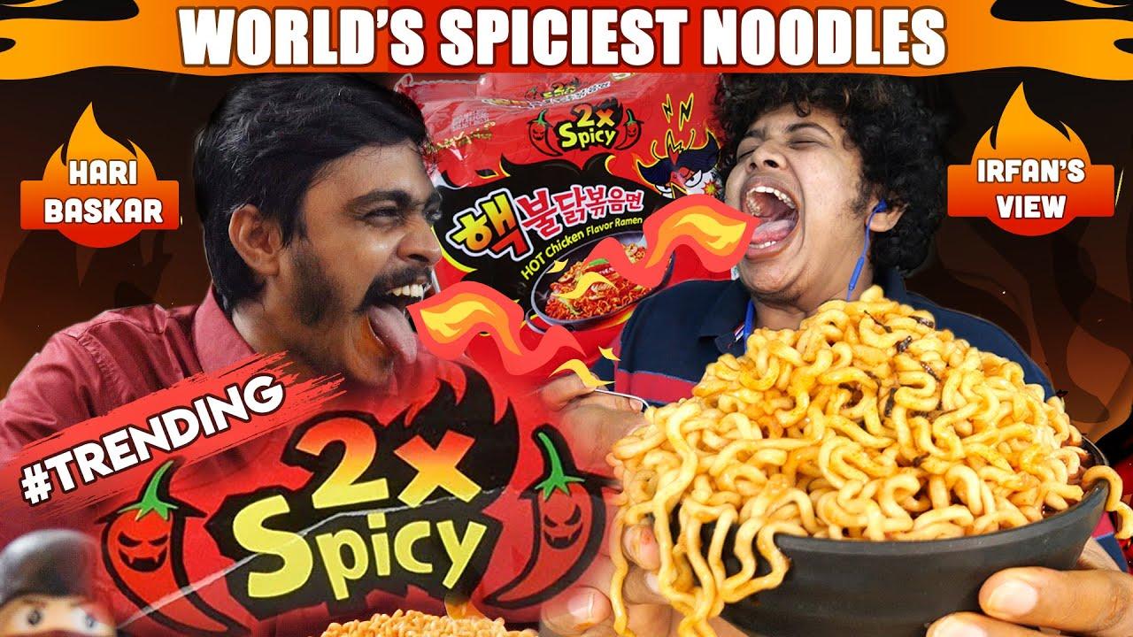 World's Spiciest Noodles Challenge - EXTREME!!! With Hari Baskar