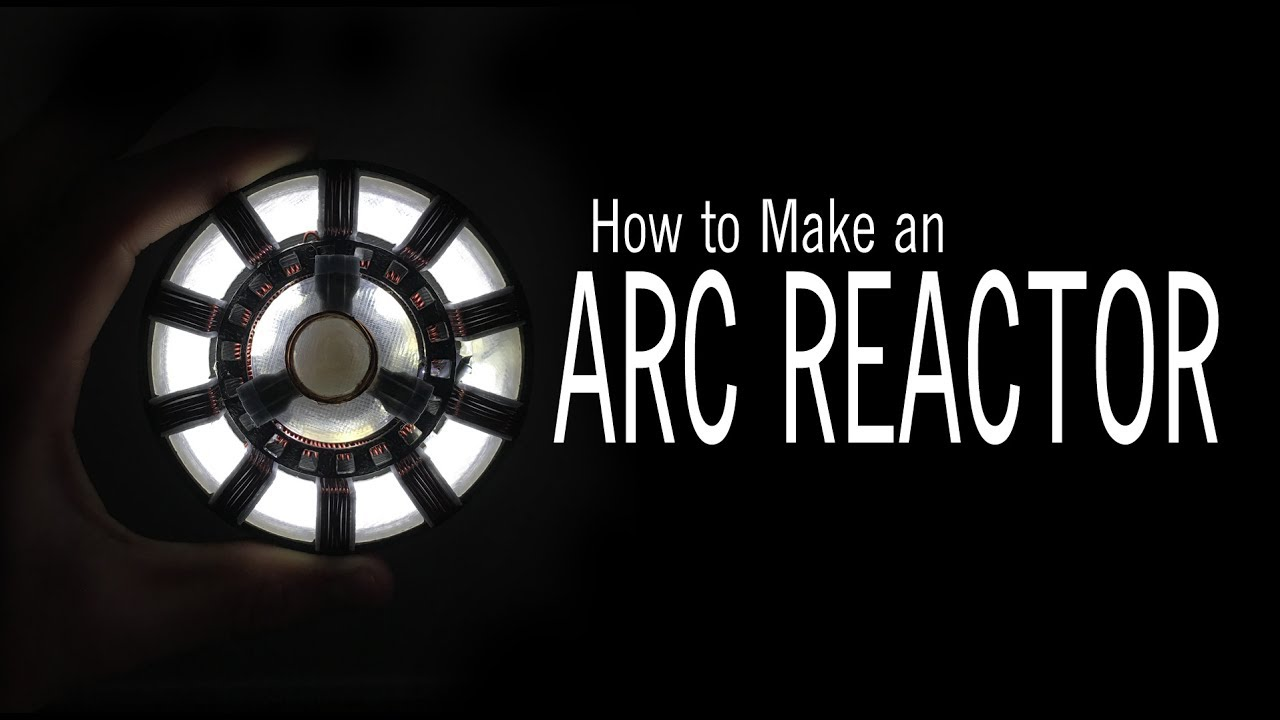 Wearable Iron Man Arc Reactor: 8 Steps (with Pictures)
