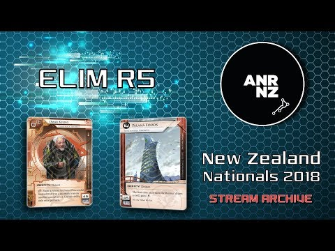 ELIM R5 - NZ Nationals 2018 - David L vs Michael W