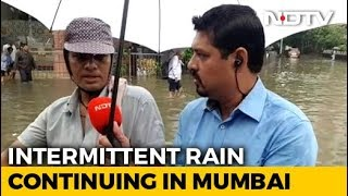 Essential Services Continues Even As Heavy Rains Bring Mumbai To Halt