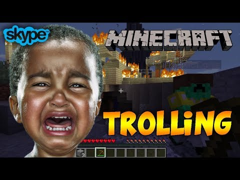 TROLLING LITTLE KID IN MINECRAFT [Autistic]