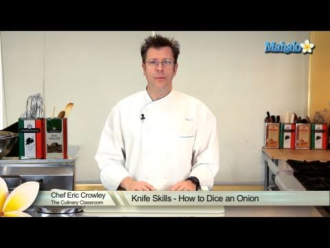 Knife Skills - How to Dice an Onion