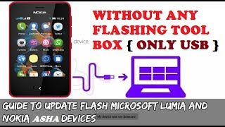 Flash All Nokia Mobile With USB ( Without Box )Flash All Nokia Asha Phone/Lumia Phone/Nokia X