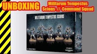 Unboxing - Militarum Tempestus Scions - Warhammer 40 000(, 2014-04-12T07:20:37.000Z)