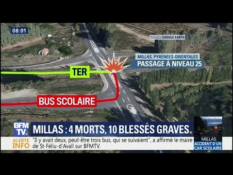Accident à Millas: ce que l'on sait au lendemain de la catastrophe
