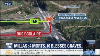 Accident à Millas: ce que l'on sait au lendemain de la catastrophe