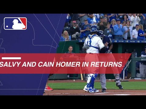 Salvador Perez and Lorenzo Cain Homer in Returns