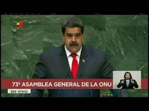Presidente Nicolás Maduro desde la ONU 26/09/2018