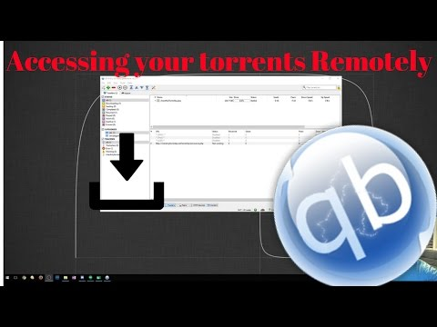 How To Access Your Torrents Remotely! - YouTube