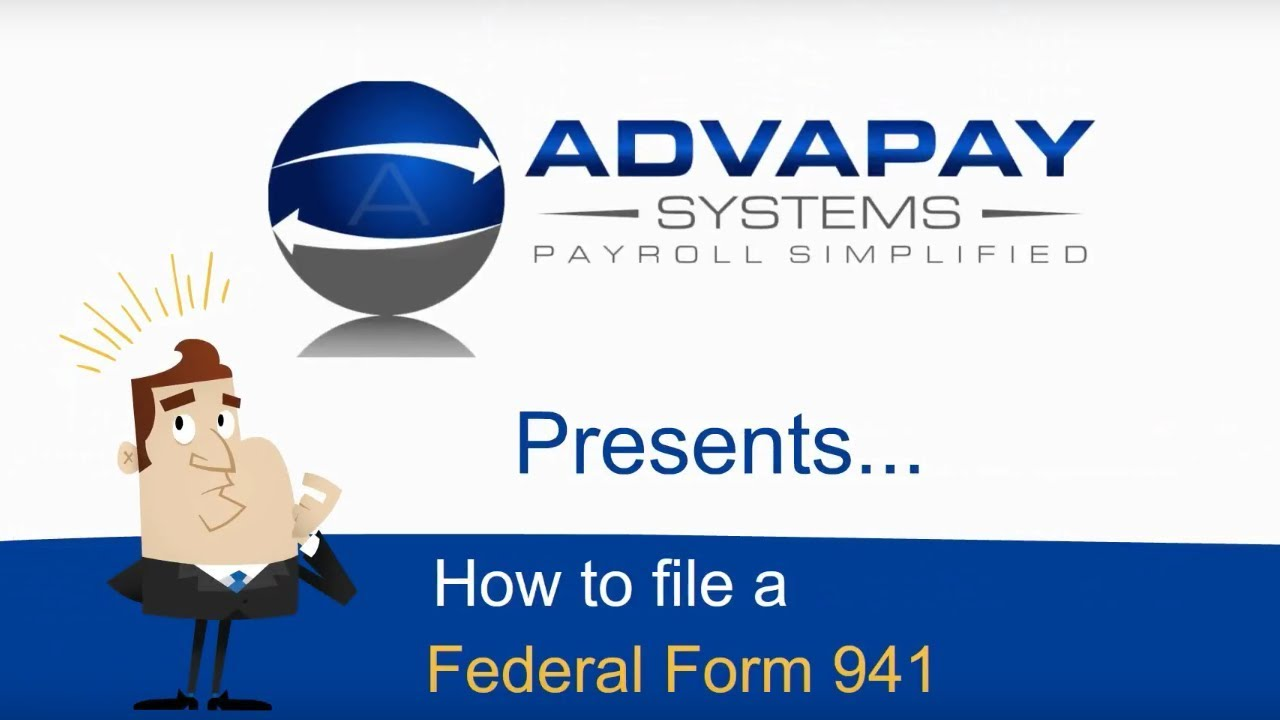 File irs form 941 online gallery standard form examples irs form 941 basic overview for new employers youtube irs form 941 basic overview for new falaconquin