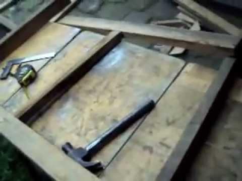 Casa en madera para perro youtube - Como hacer una casa de perro ...