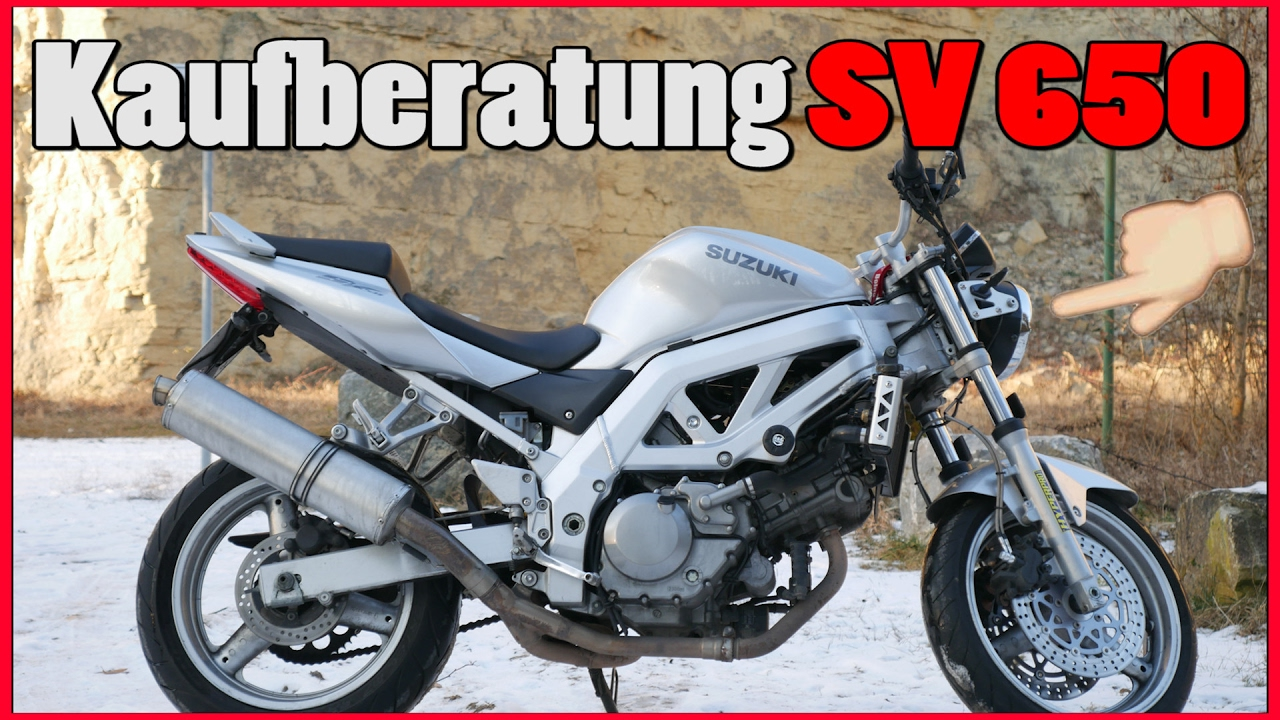 kaufberatung suzuki sv 650 youtube. Black Bedroom Furniture Sets. Home Design Ideas