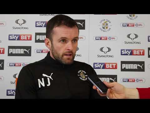 Nathan Jones on this weekend's game against Cambridge United