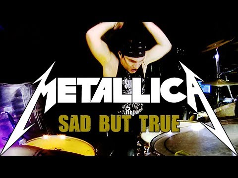 METALLICA - SAD BUT TRUE - DRUM COVER - FRANKY COSTANZA