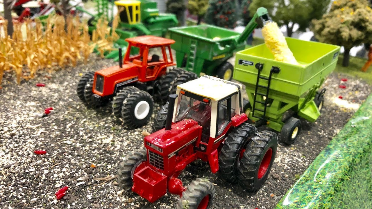 2018 National Farm Toy Show Display Contest First Place Youth Youtube