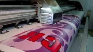 видео Печать банеров