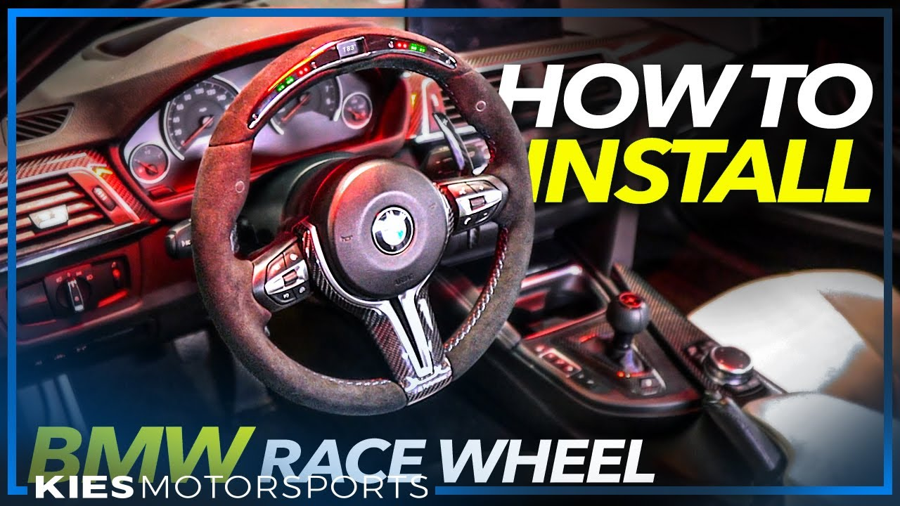PART 1: How to install the BMW OEM Genuine RACE DISPLAY WHEEL in the F3x, F2x or F8x
