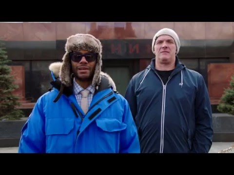 Richard Ayoade & Greg Davies in Moscow - Travel Man S02E04
