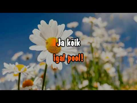 Tarmo Pihlap, Boris Lehtlaan & Admiral - Mu väike maailm (karaoke with lead vocal)