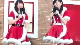 2016年12月24日幕張メッセのステージ、大矢真那さんと松村香織さんの10...