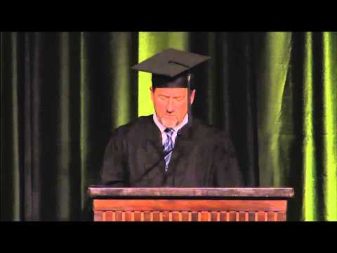 Andrew Wirth - Commencement Address at CSU's Warner College of Natural Resources