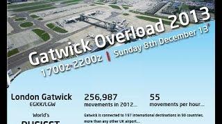 GATWICK OVERLOAD 2013 - CESSNA 340 IFR