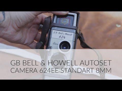 GB Bell & Howell Autoset camera 624EE Standart 8mm