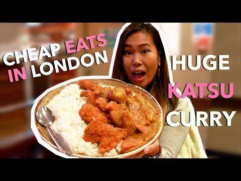 LONDON CHEAP EATS: GIANT Katsu Curry In Soho!!! | London Vlog #6