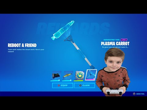 How To Unlock The FREE Fortnite Rewards! (VERY EASY) TRUMAnn & His 7 Year Old Kid Unlocking items