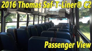Day time driving 2016 Thomas Saf-T-Liner® C2 [BUS #1510]