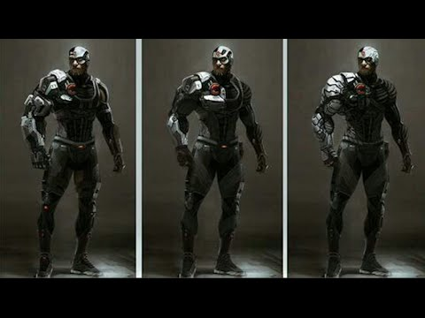 Possible Ray Fisher Cyborg LEAKED Concept Art?!