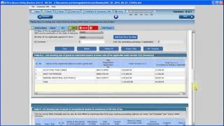 How to make & submit e - Sales Tax Return under Haryana Vat - A Detailed Procedure